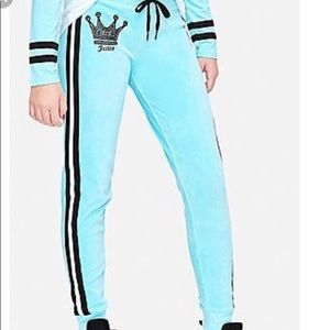Justice Velour Joggers